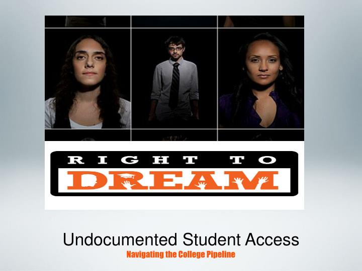 undocumented student access navigating the college pipeline n.