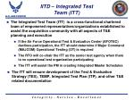 iitd integrated test team itt
