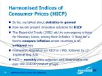 harmonised indices of consumer prices hicp