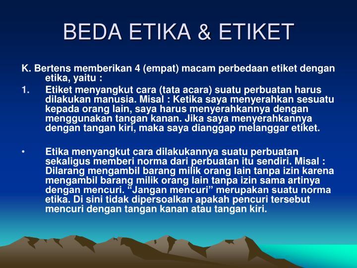 Ppt Etika Administrasi Oleh Ika Ruhana Powerpoint Presentation