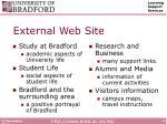 external web site
