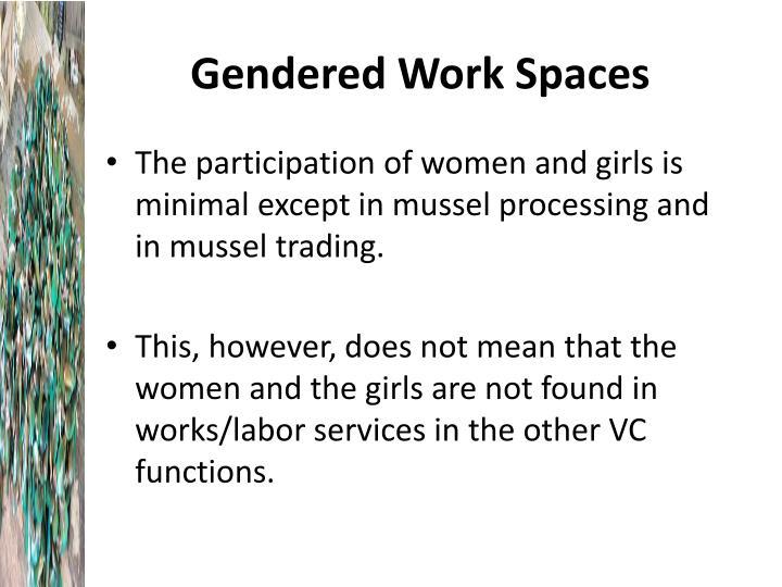 Gendered Work Spaces
