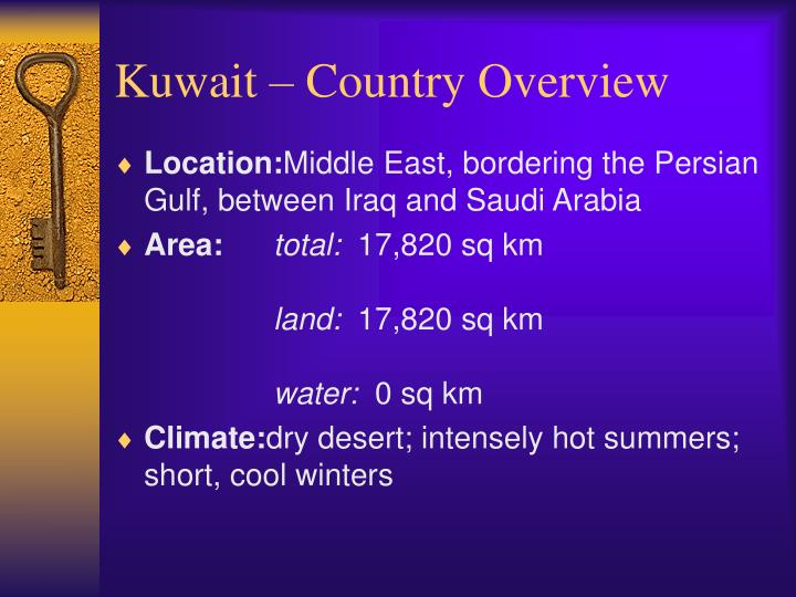 Kuwait country overview