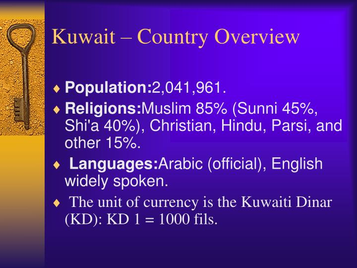 Kuwait country overview1