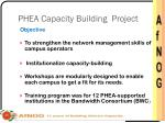 phea capacity building project