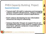 phea capacity building project1