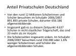 anteil privatschulen deutschland
