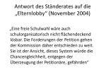 antwort des st nderates auf die elternlobby november 2004