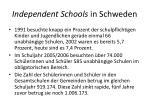 independent schools in schweden