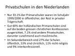 privatschulen in den niederlanden