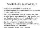 privatschulen kanton z rich