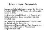 privatschulen sterreich