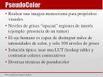 pseudocolor