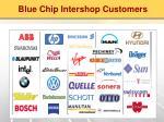 blue chip intershop customers