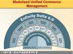 modulized unified commerce management