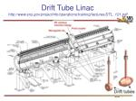 drift tube linac http www sns gov projectinfo operations training lectures dtl 101 pdf