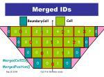 merged ids
