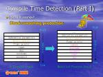 compile time detection part i