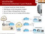 hs eth sw enhanced ethernet 4 port module
