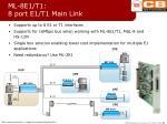 ml 8e1 t1 8 port e1 t1 main link
