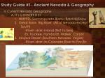 study guide 1 ancient nevada geography1