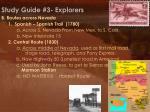 study guide 3 explorers3