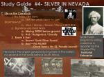 study guide 4 silver in nevada1