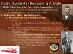 study guide 5 becoming a state