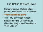 the british welfare state