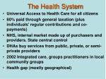 the health system