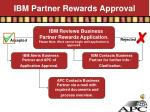 ibm partner rewards approval