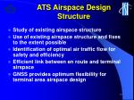 ats airspace design structure