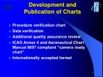 development and publication of charts