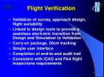 flight verification