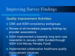 improving survey findings2