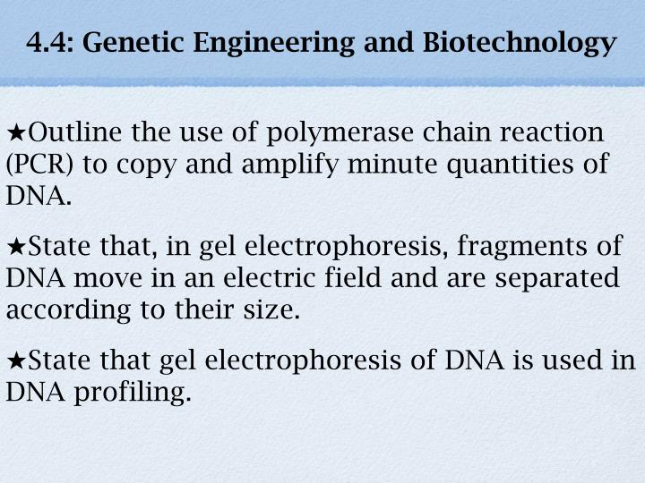 4 4 genetic engineering and biotechnology n.