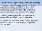 4 4 genetic engineering and biotechnology3