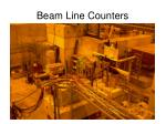 beam line counters