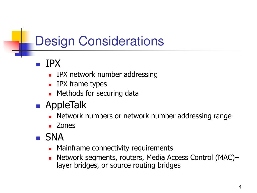 PPT - Chapter 3: Multiprotocol Network Design PowerPoint