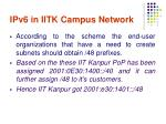 ipv6 in iitk campus network1