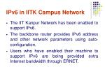 ipv6 in iitk campus network2
