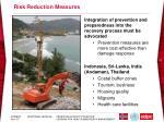 risk reduction measures