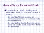 general versus earmarked funds2