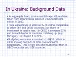 in ukraine background data