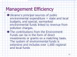 management efficiency3