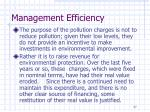 management efficiency6
