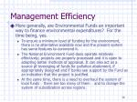 management efficiency7