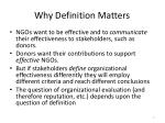 why definition matters