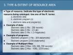 3 type extent of resource area1