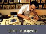 psan na papyrus